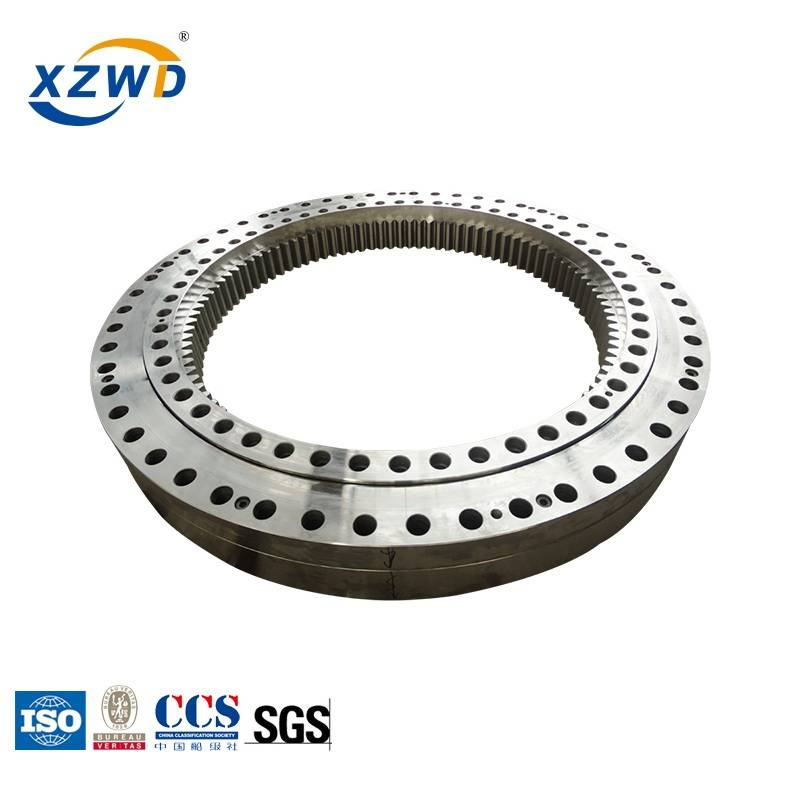 Internal gear Three row roller Slewing Bearing for Marine Crane Featured Image