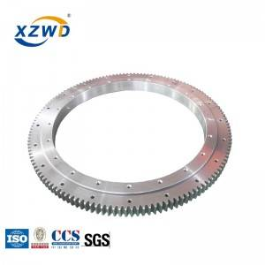 XZWD Single Row ball Slewing Bearing Ring External Gear for Tunnel Boring Machines
