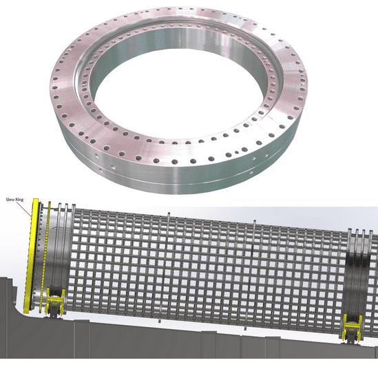 Best-Selling Three Roller Slewing Ring - XZWD|Heavy Duty Three Row Roller Slewing Bearing for Tunnel boring machine – Wanda Featured Image