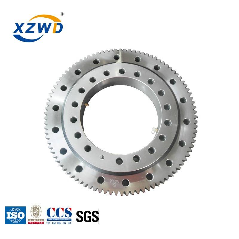 Factory making Small Turntable Bearing - xzwd OEM best price turntable ball bearing for crane – Wanda