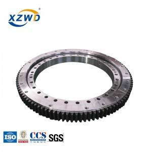 XZWD 011.60.2800 External Gear Single Row Ball Slewing Ring for Crane