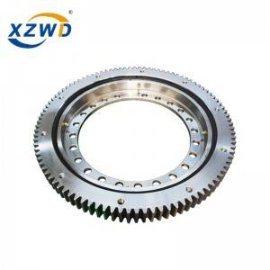 Best-Selling Three Roller Slewing Ring - XZWD|Lightweight slewing bearings for packing machine – Wanda