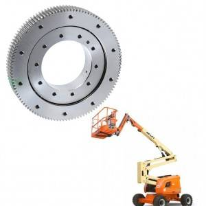 Slewing bearing for lamp maintenance aerial work vehicles