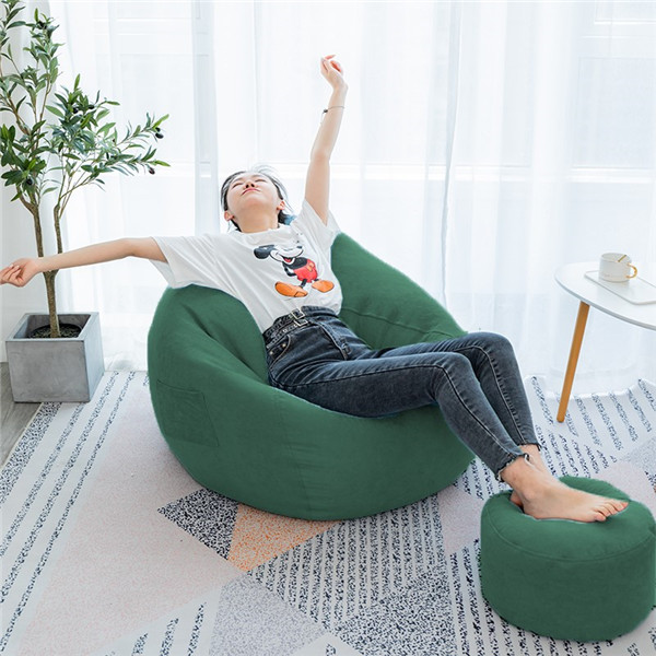 Multicolor bean bag #cover leisure beanbag floor chair sofa  0414 Featured Image