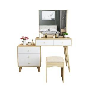 Simple and Modern Board Dressing Table, Small Apartment Bedroom Dressing Table 0002