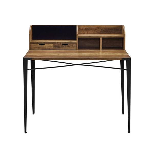 Carbon Loft 42-inch Writing #Desk with Small Hutch