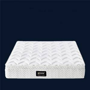 Compressed independent pocket spring mattress natural latex mattress 0421