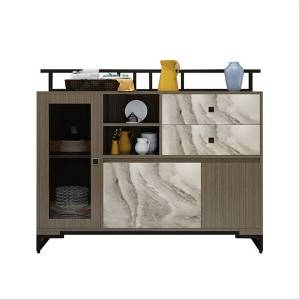 Scandinavian sideboard cabinet Simple modern multifunctional hotel tea cabinet 0457