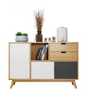 Nordic solid wood multifunctional storage cabinet storage sideboard 0504