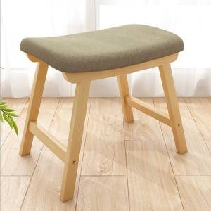 Small stool household low stool fashion creative sofa stool small chair living room small bench economical fabric makeup stool-0105