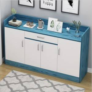 Shoe cabinet home entrance large capacity simple modern porch cabinet solid wood door simple storage cabinet locker