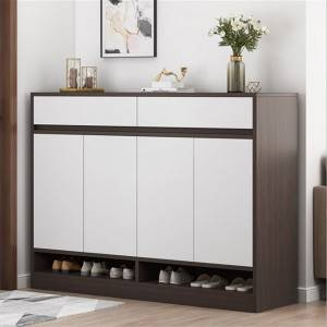 Shoe cabinet household entrance large capacity simple storage hall cabinet economical balcony porch cabinet household entry shoe rack