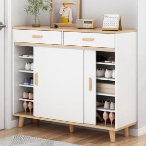 Shoe Cabinet Household Economical Simple Door Rack Removable Cabinet Door Space-Saving Indoor Good-Looking Multi-Layer Storage