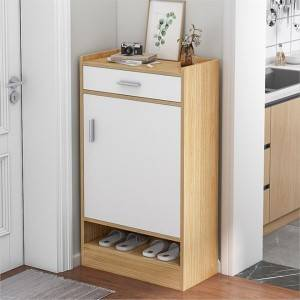 Heightened Multi-Layer Shoe Cabinet, Entrance Storage, Entrance Hall Storage Shoe Cabinet, Home Entrance Narrow Balcony, Simple and Modern