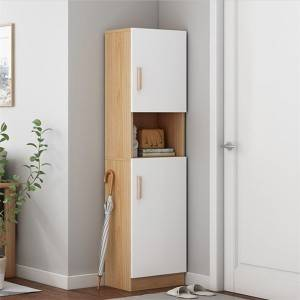Shoe cabinet home large capacity Nordic multi-function door storage cabinet modern minimalist revert to high cabinet locker