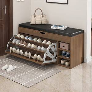 Nordic ultra-thin tipping shoe cabinet home entrance large capacity home entry simple modern entrance storage storage hall cabinet