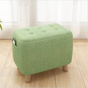 Small Stool Bench Fashion Creative Low Stool Home Sofa Stool Fabric Bench Economical Shoe Stool Small Wooden Stool