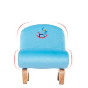 Children's chair solid wood back chair sofa chair household baby bench 0405