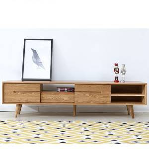 Cheapest Price  Dressing Table And Mirror - Modern Solid Wood TV Stand# 0015 – Amazons Furniture