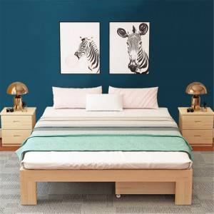 New Solid Pine Bed Bedroom Furniture 0223