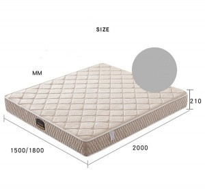 1.8m 1.5m Convenient Compression Mattress Silent Independent Pocket Spring Roll Pack Mattress 0418