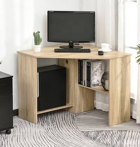 Computer Desk is made of  particlieboard and mdf with melamine paper, it is belong to Office Furniture