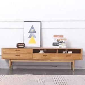 Nordic Solid Wood Creative Home TV Stand Cabinet# 0018