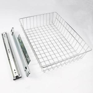 601 Series A type Clothing grid wall telescopic drawer