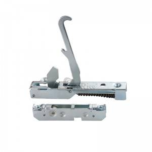 Single ear gas cooker oven door hinge