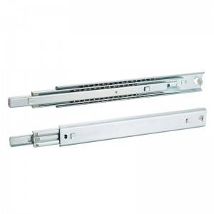 Popular Design for Ball Bearing Drawer Slide Rail - 45mm Full extension bayonet mount drawer slide – Yangli