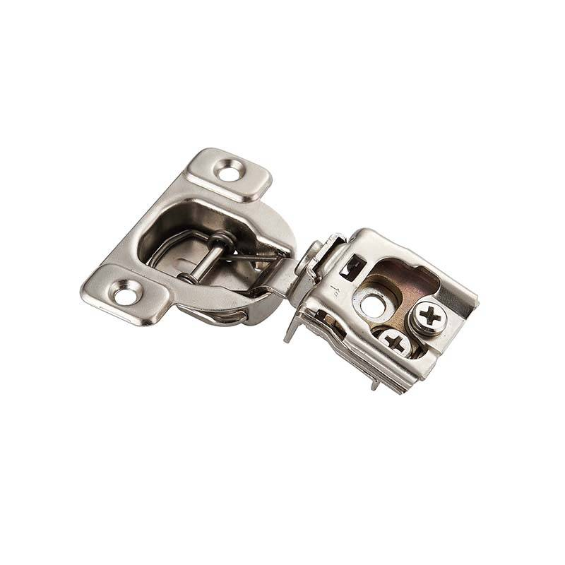 Best quality Sliding Locks Hinges For Furniture - 3D Adjustment face frame hinge 1 inch overlay for kitchen & bathroom cabinets – Yangli