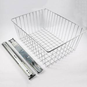 603 Series B type Clothing grid wall telescopic drawer