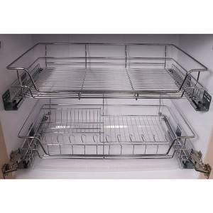 507 Series Multi-function dishes pull out wire basket drawer