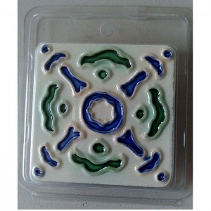 Excellent quality Ceramic Wall Tile Decoration Border - Fridge Magnet – Yanjin