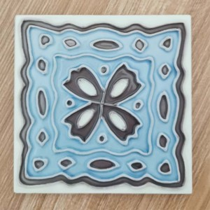New Arrival China Square Arts Coaster - Ceramic Coster Tile 4×4 – Yanjin