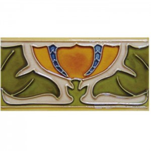 Bottom price Handmade Wall Tiles - Ceramic Decorative Tiles Border – Yanjin