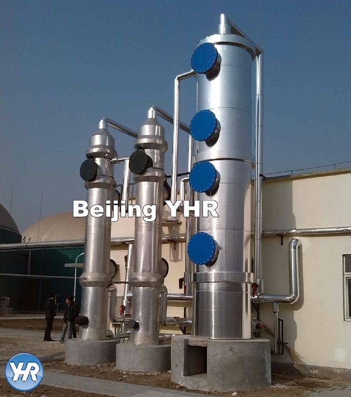 Online Exporter Water Storage Tanks For Drinking - Reliable Biogas Purification System Plug And Use 70 – 80 M2 / G Surface Area – YHR