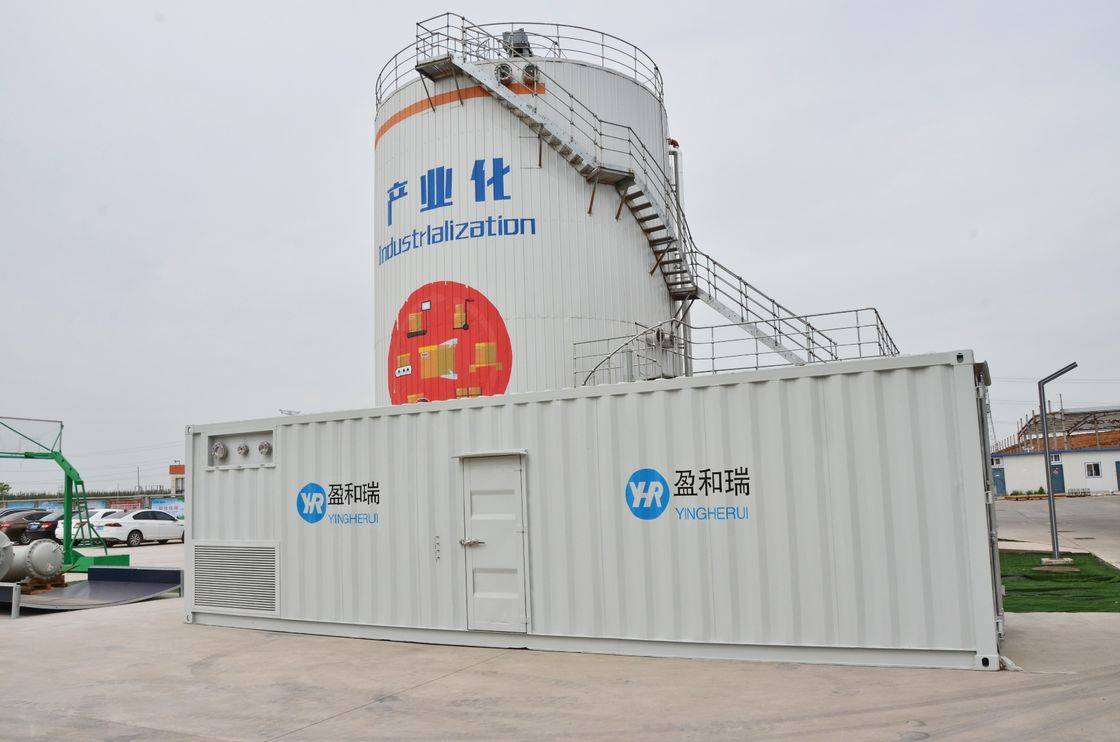 Renewable Design for Fire Protection Water Storage Tank Sizing - Gas Network 20 Bar Membrane Biogas Purification System – YHR