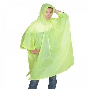 Factory directly Emergency Disposable Rain Ponchos - Reusable PVC poncho (adult model) – Winhandsome