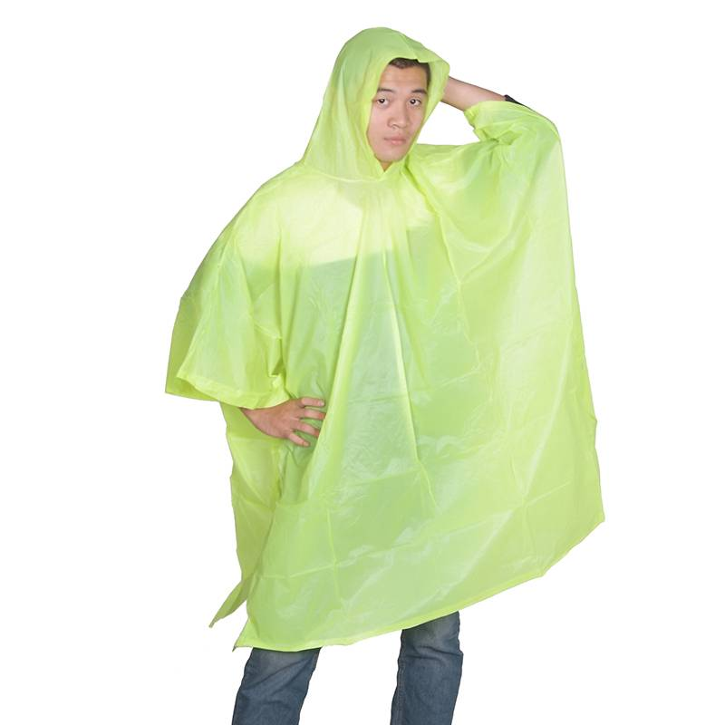 Reusable PVC poncho (adult model) Featured Image