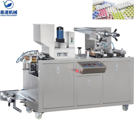 OEM/ODM Manufacturer Njp 2000 Capsule Filling Machine - Dpp-80 Automatic Pharmaceutical Equipment Capsule/Liquid/ Choclate Blister Packing Packaging/Package/Pack Machine – Yidao