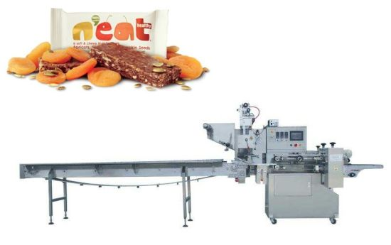 Industrial Snacks Food Packing Machine Chocolate Bar Candy Bar Wrapping Machine