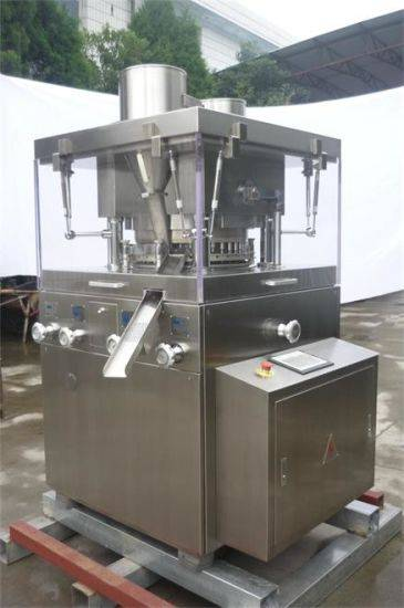 High Speed Rotary Pharmaceutical/Food Chicken Soup Cube Tablet/Pill/Salt Making Press Machine