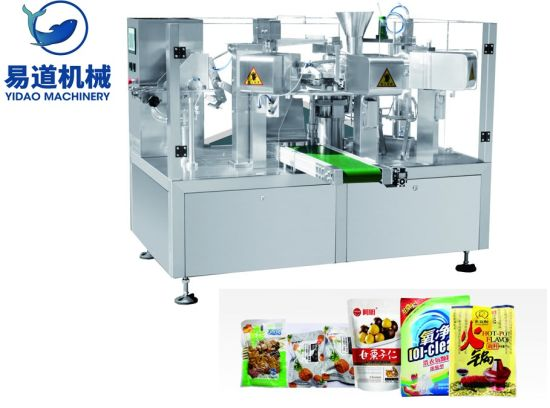 Top Suppliers Machine Packing Box - Automatic Premade Pouch Soft Sweet Food Packing Machine – Yidao
