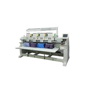 4 heads embroidery machine