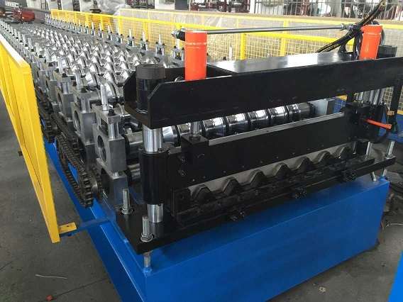 Cheapest Price Downspout Forming Machine - European standard steel floor forming machine – Yingyee