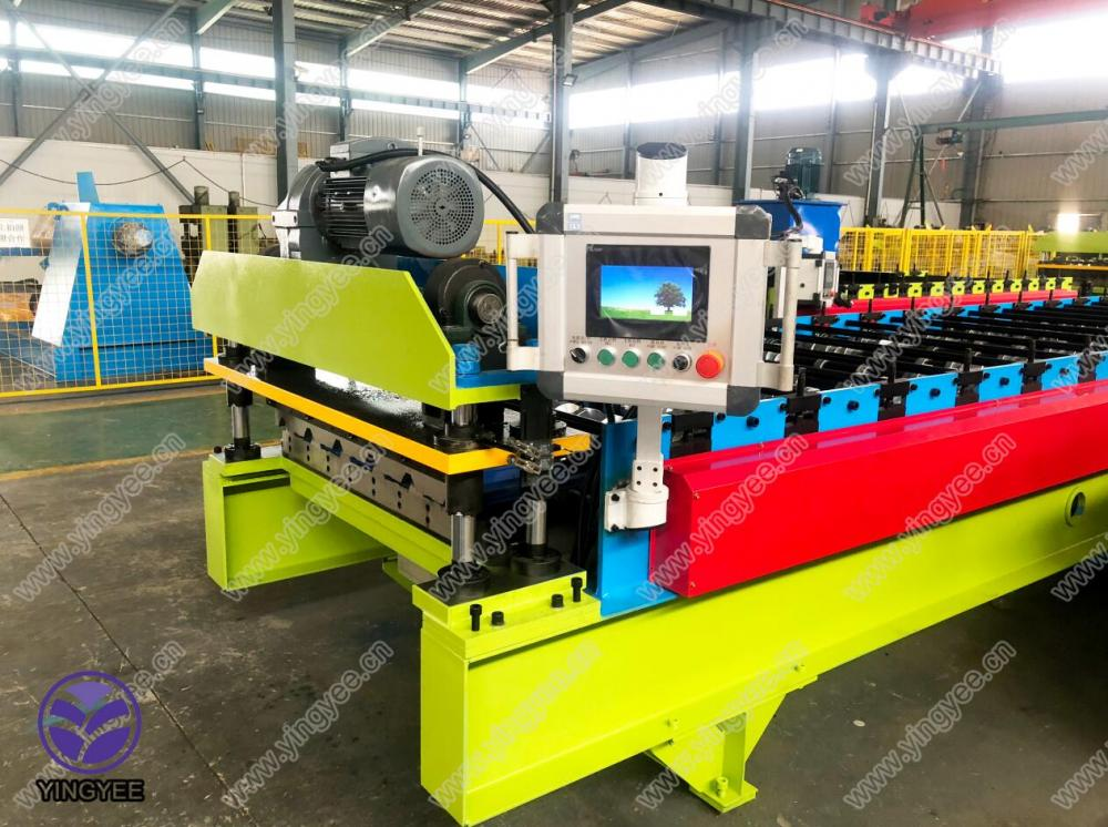 8 Year Exporter Downspout Machine - Wholesale Dealers of China Corrugated Steel Roofing Iron Sheet Making Machine – Yingyee