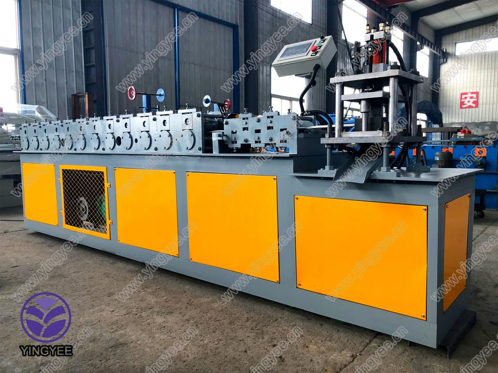Newly Arrival Sandwich Panel Cutting Machine - roll-up door roll forming machine – Yingyee