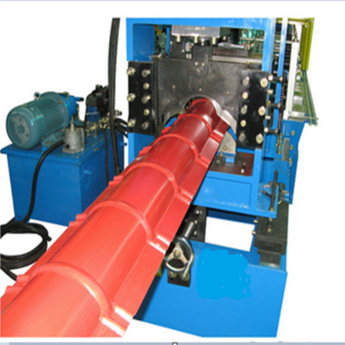 Hot Selling for Roof Sheet Rolling Machine - Color Metal Ridge Cap Making Machine – Yingyee