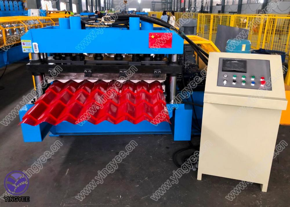 High speed Glazed roof forming machine